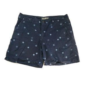 Eddie Bauer Blue Star Print Shorts